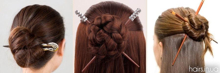 Фото китайских палочек для волос