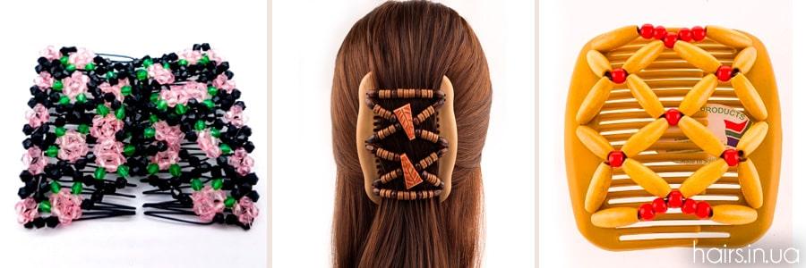 """Фото заколок для волос """"Монтара"""""""