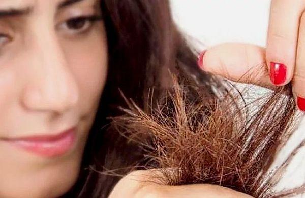Фото проблемных волос
