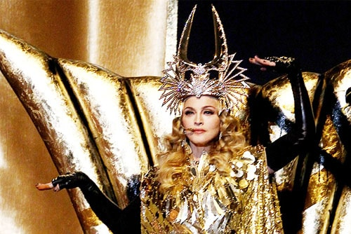 Мадонна в эпатажном образе