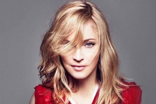 Мадонна на съёмках