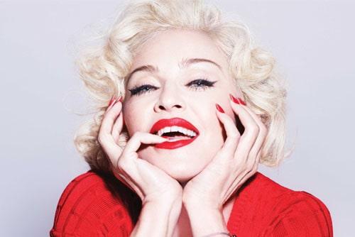 Мадонна в образе Мерелин Монро