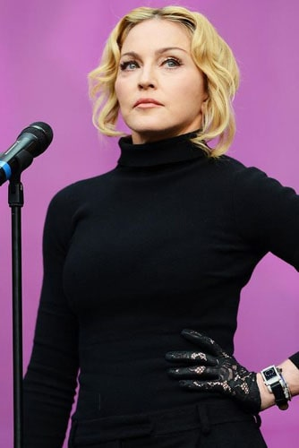 Мадонна на сцене