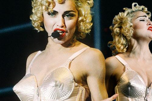 Мадонна в фирменном наряде