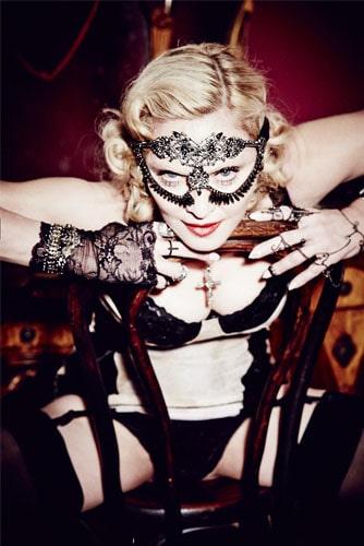 Откровенный образ Мадонны